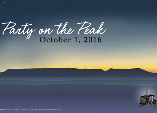 A Night of Excitement for Party on the Peak 2016